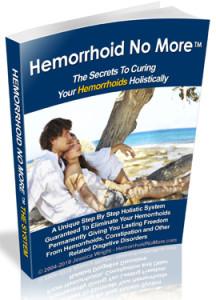 Hemorrhoids no more book